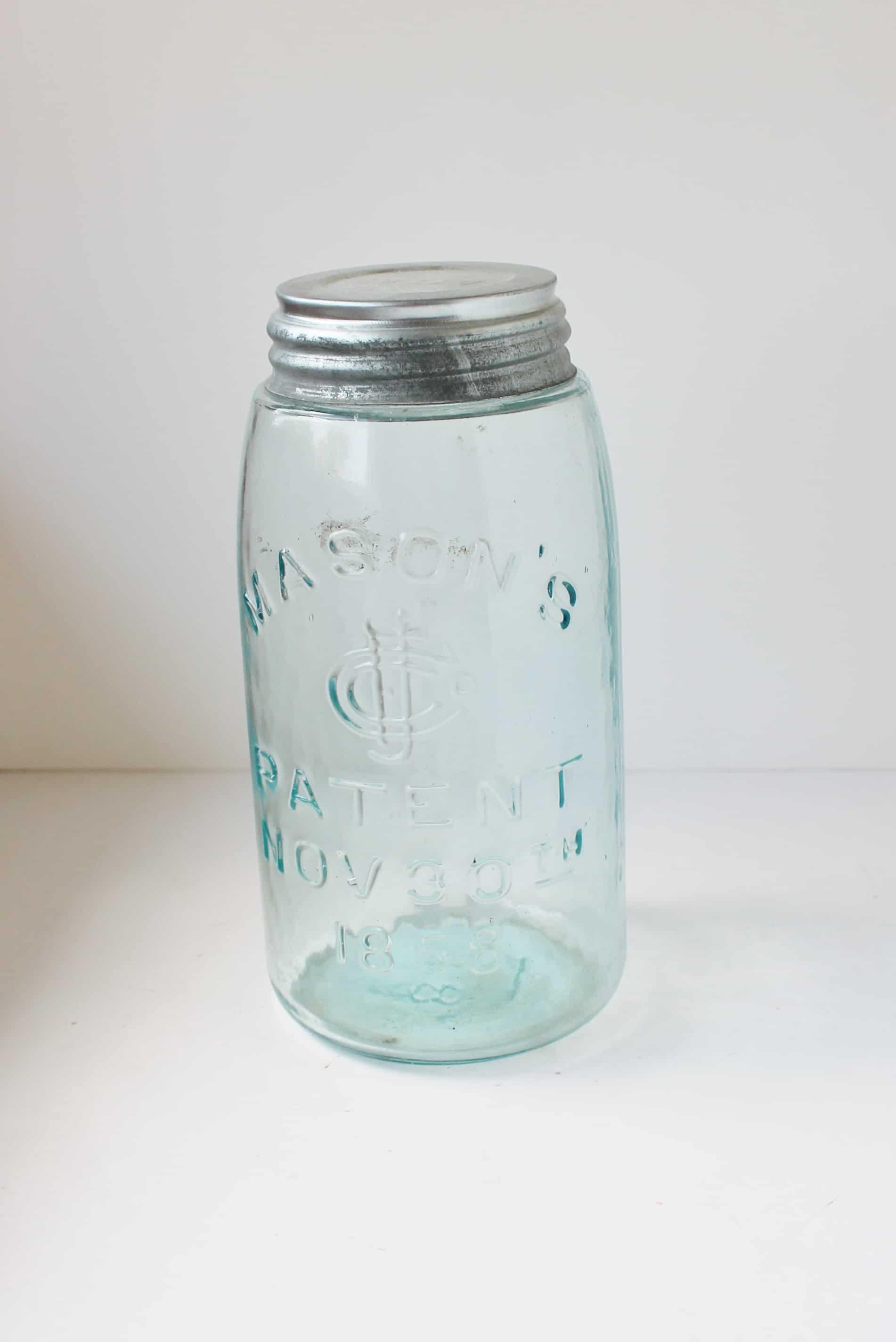 vintage mason's canning jar