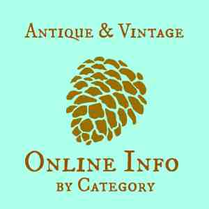 Antique & Vintage Online Info by Category