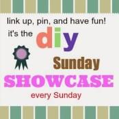 DIY Sunday Showcase feature button
