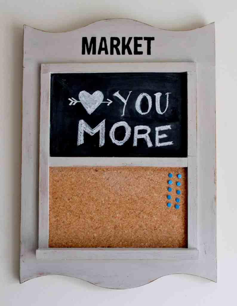 Market Message Center at Adirondack Girl @ Heart