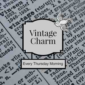 Vintage Charm #59 & November Feature of the Month