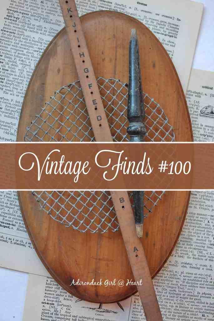 Vintage crafting items at Adirondack Girl @ Heart