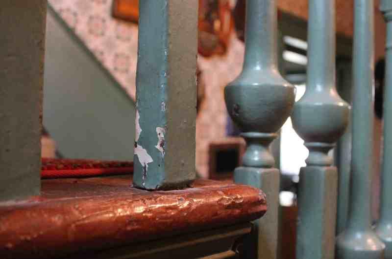 Becker Stone House stairwell