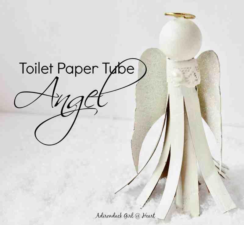 toilet paper tube angel