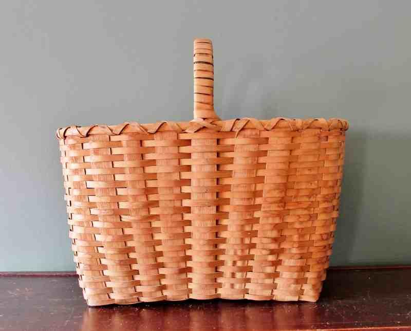 Ash Splint Work basket