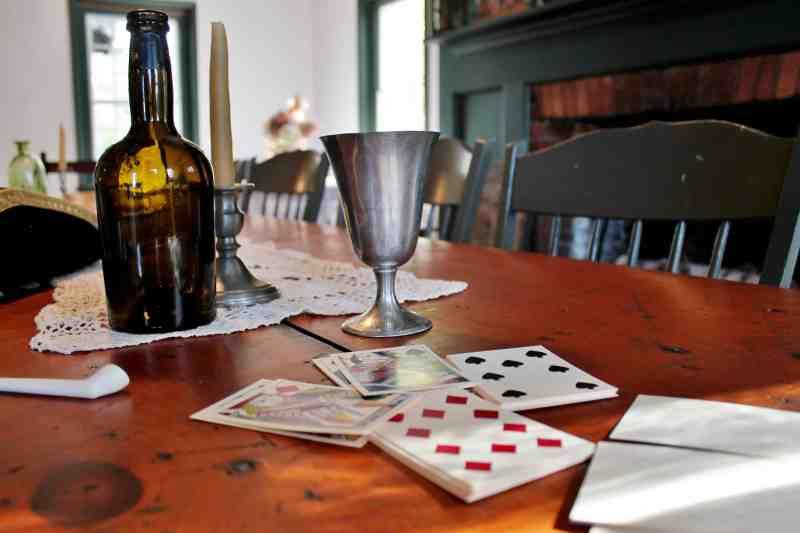 Tavern area of Lassell Hall
