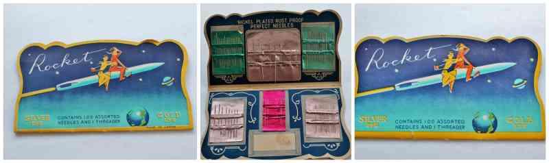 Needle case collage