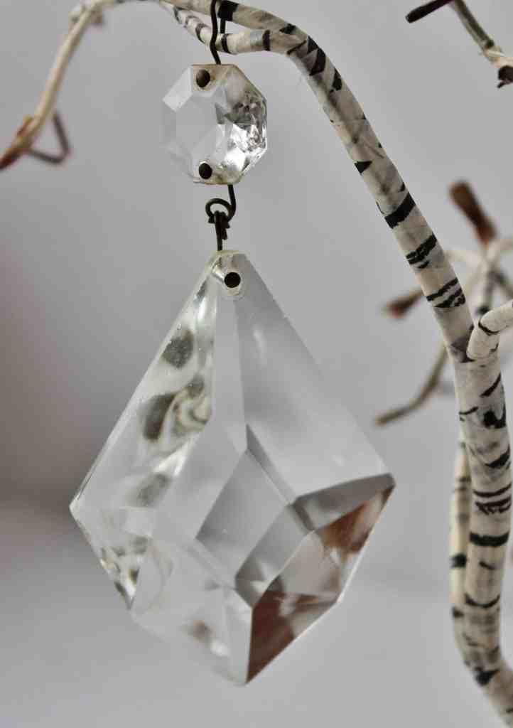 Vintage Chandelier Crystal