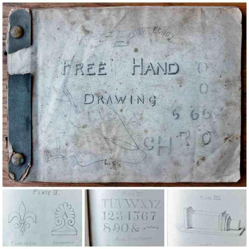 Free Hand Drawing Sketch Pad