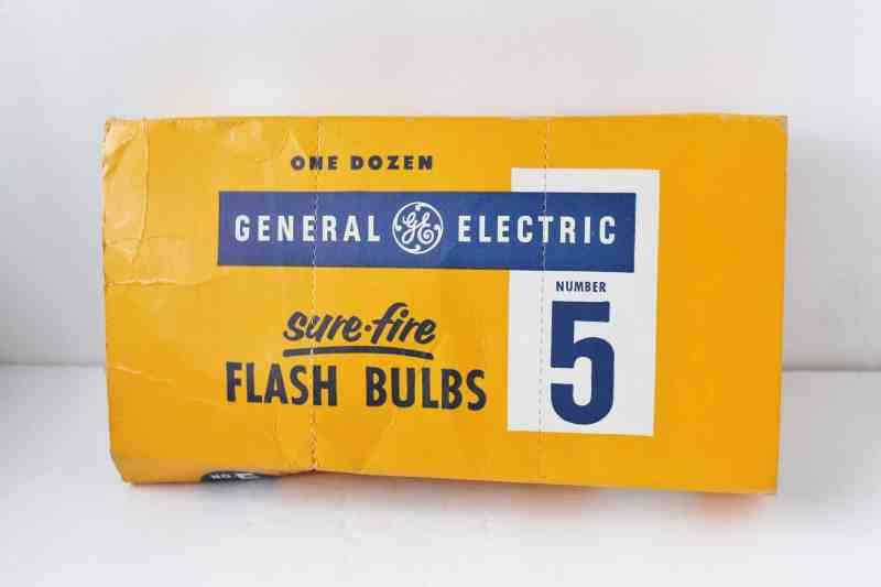 GE Camera Flash Bulbs