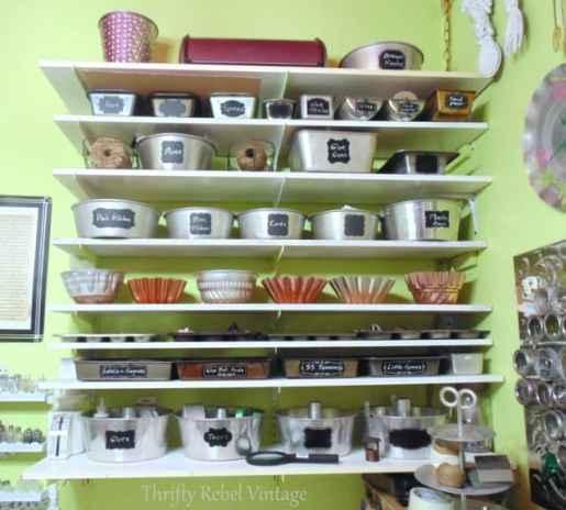 Repurposed Bakeware Craft Room Thrifty Rebel Vintage