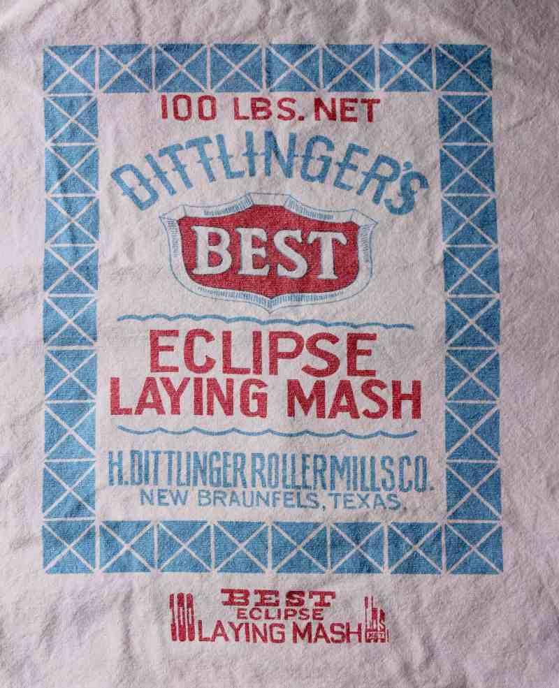 Towel with Vintage Advertising (3)
