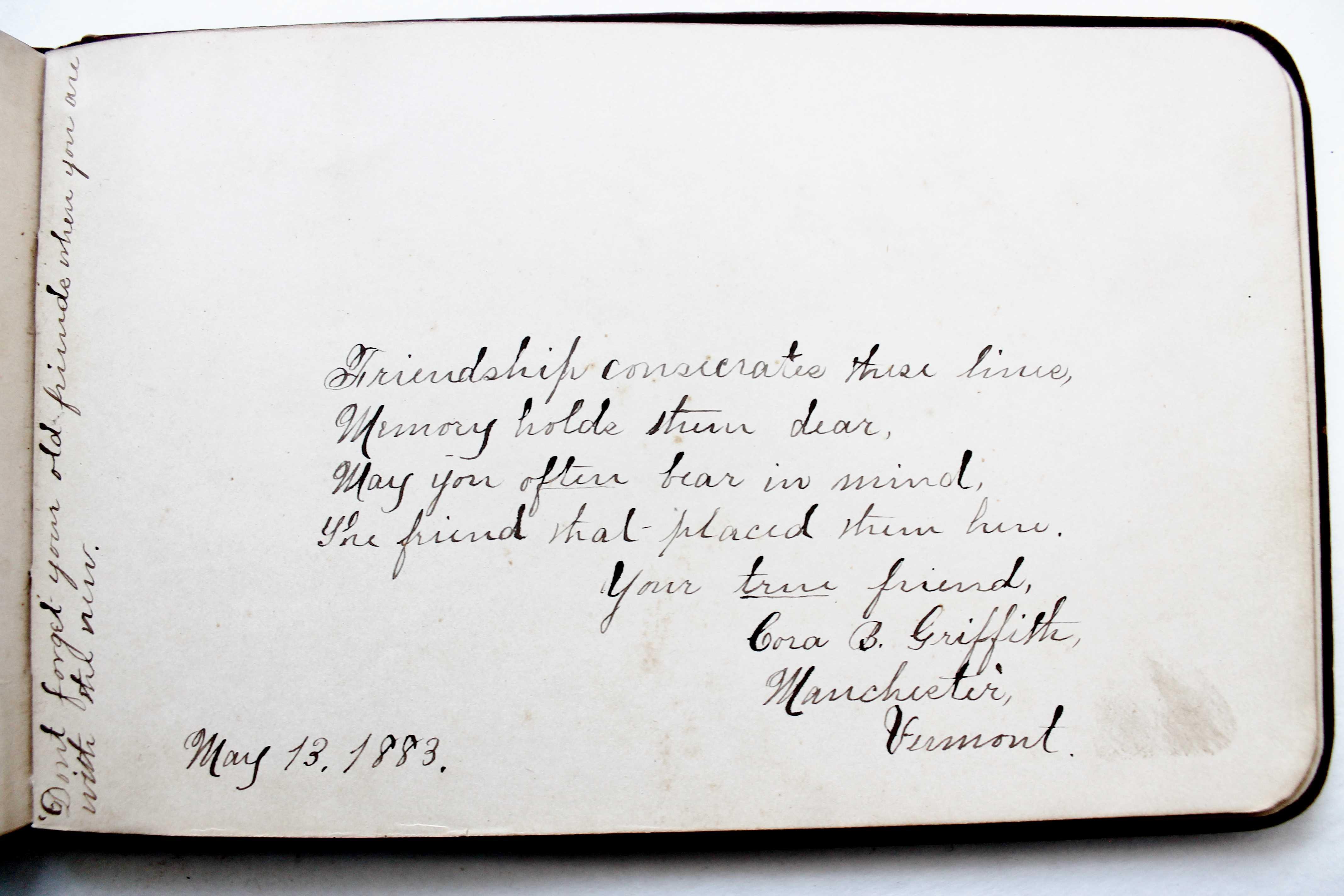 Antique autograph (4)