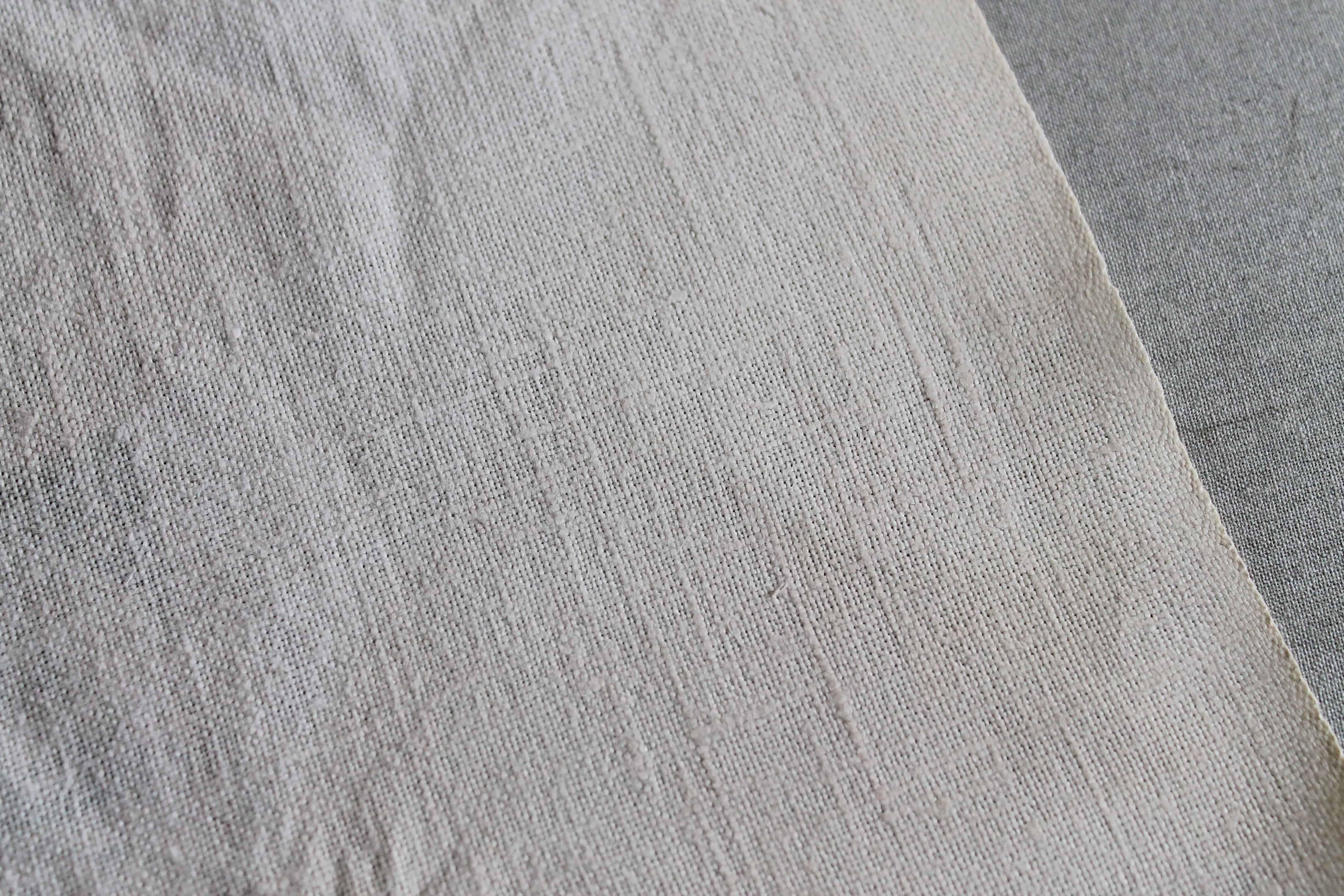 Scorch mark gone on linen