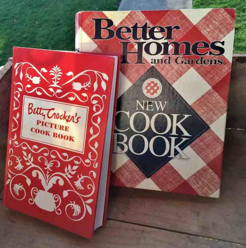 Vintage Cookbooks Betty Crocker and BHG