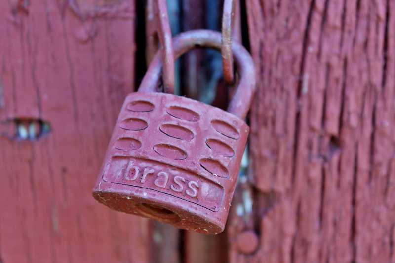 Painted lock