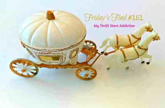 Friday finds 151 Cinderella pumpkin My Thrift Store Addiction
