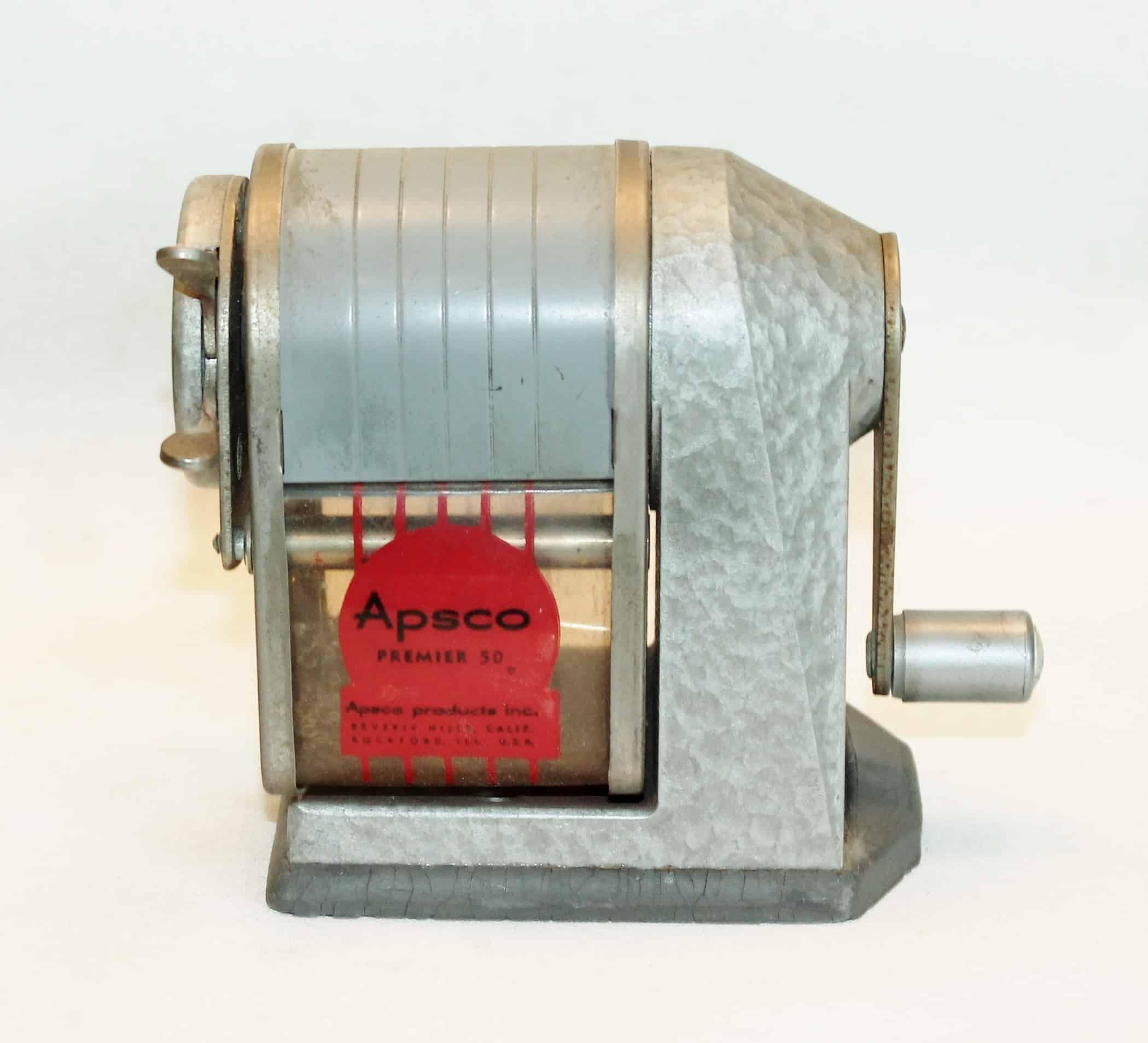Vintage Apsco Pencil Sharpening