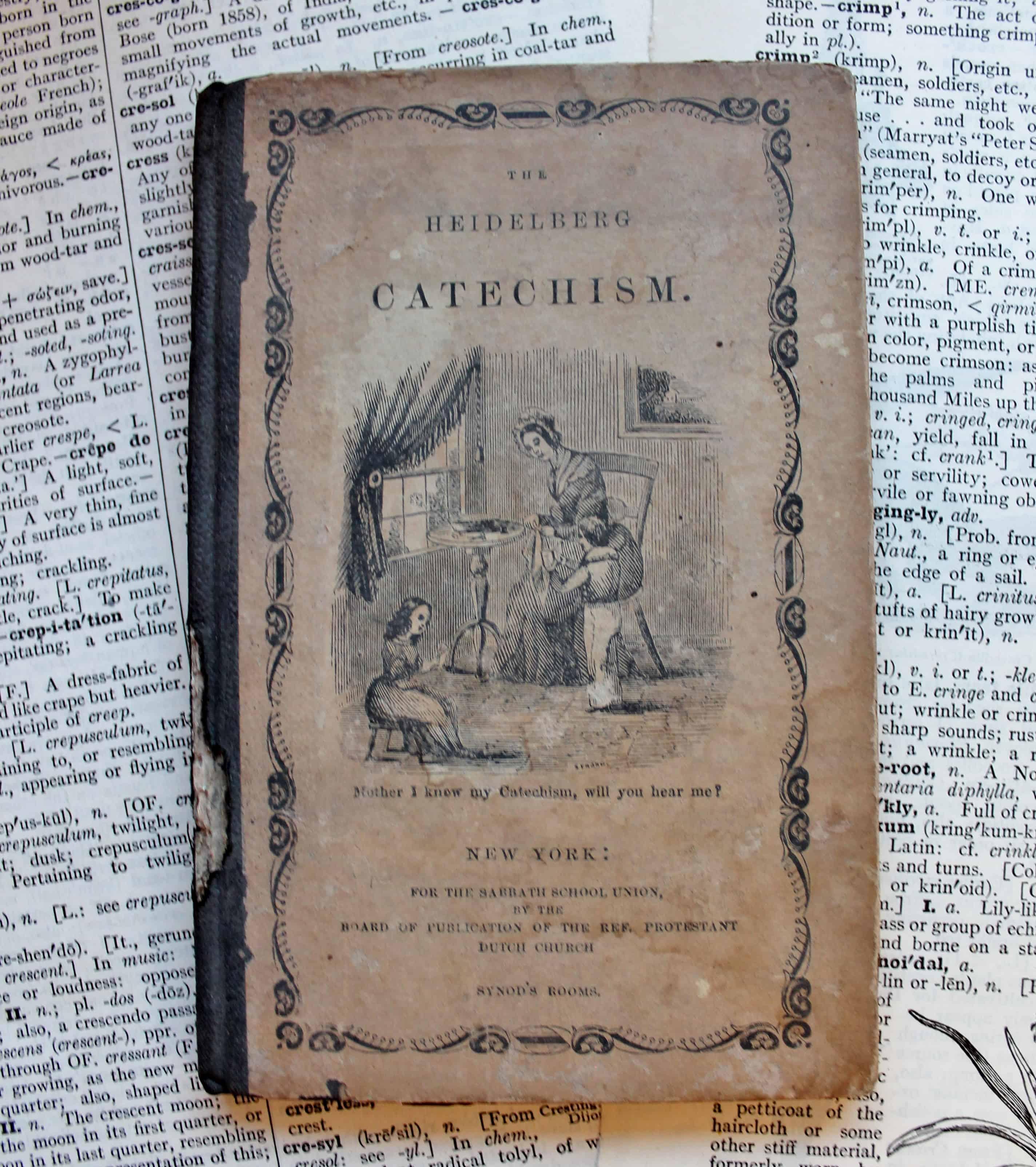 Antique catechism book (2)