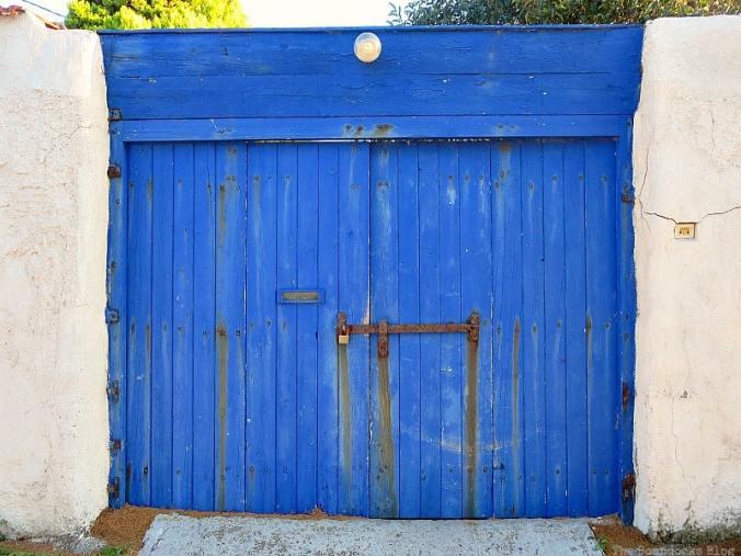 Blue Vintage Door at the Boondocks Blog Diana 45