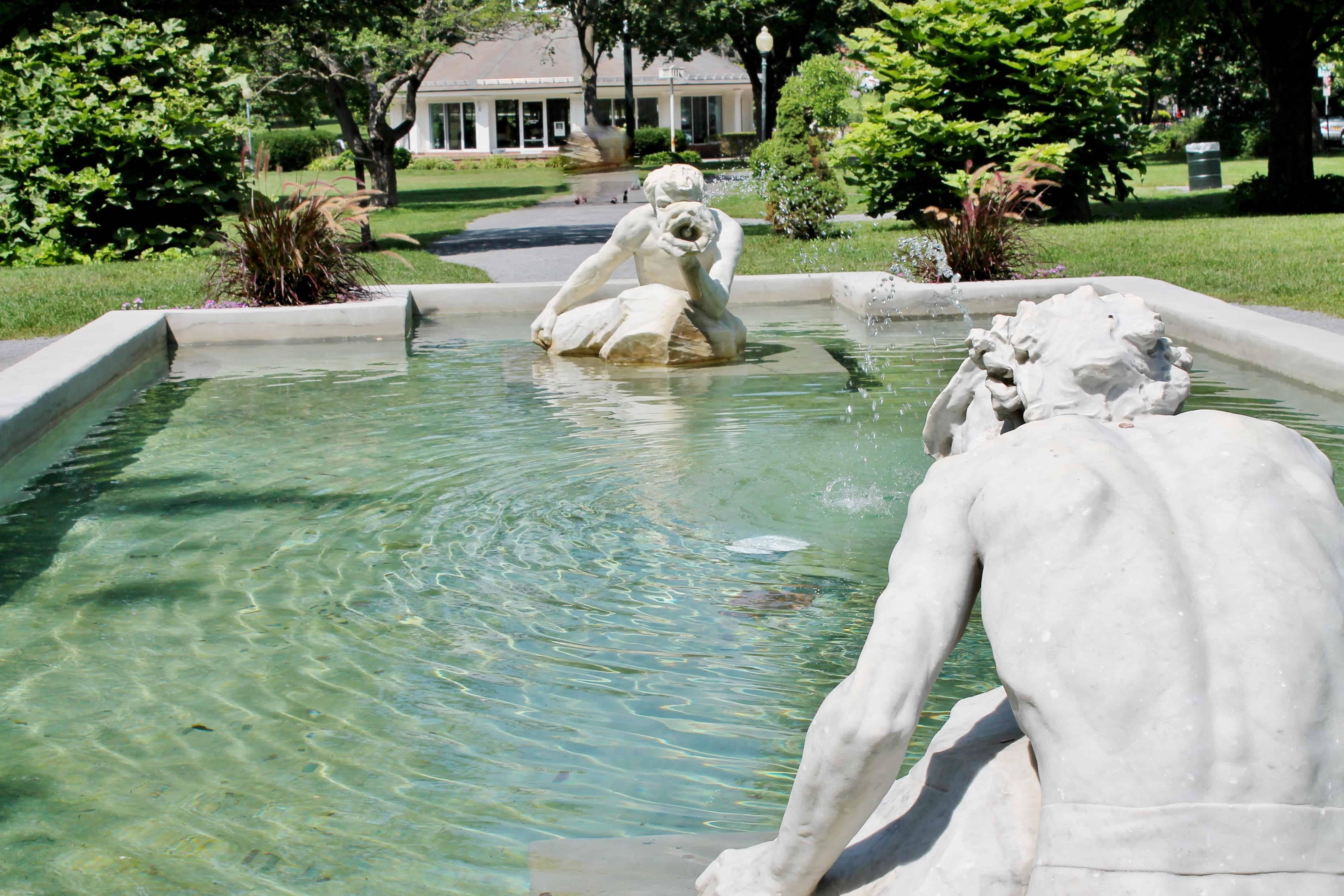 Italian Garden in Congress Park Saratoga at Adirondack Girl @ Heart (8)