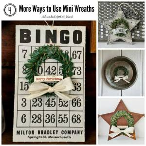 4 More Ways to Use Mini Wreaths