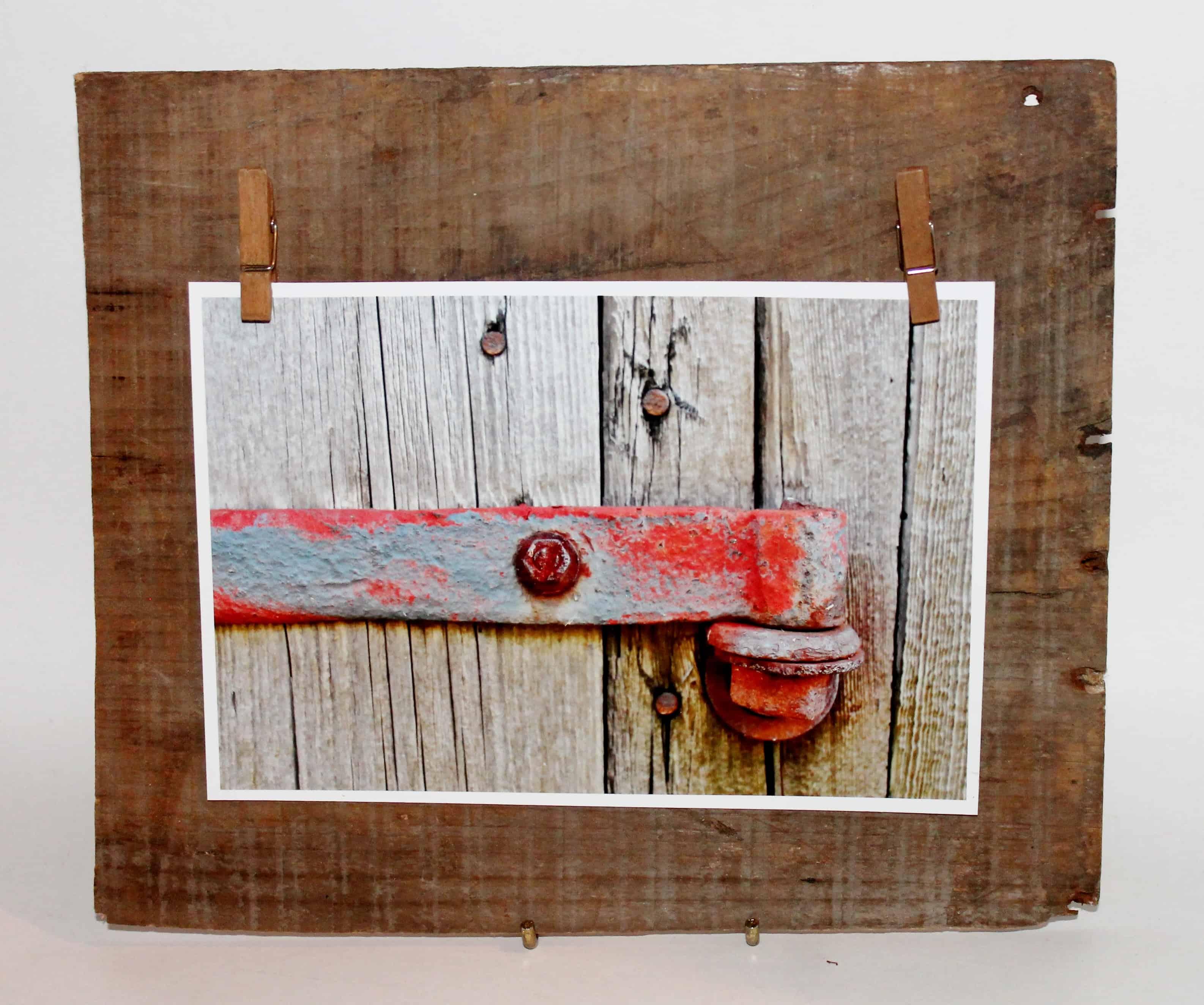 Photo of barn door latch