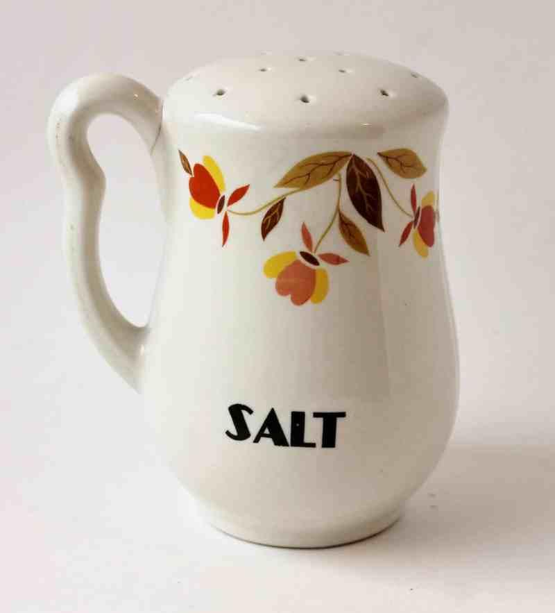 Jewel Tea Salt Shaker