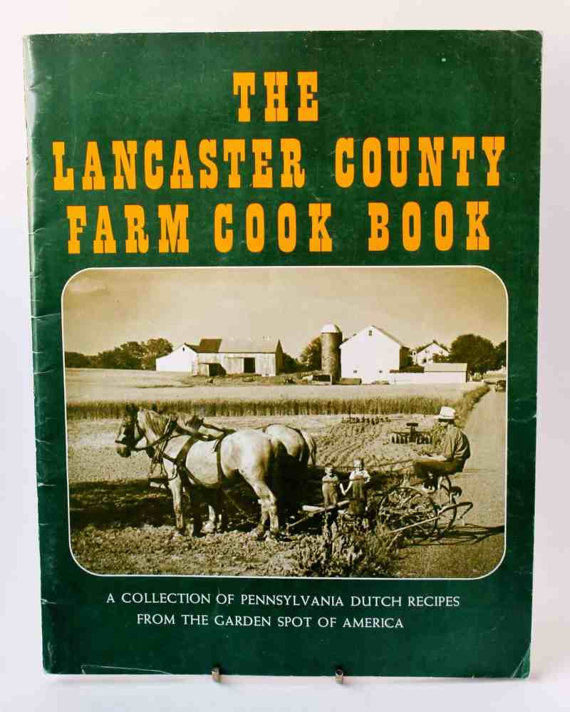 vintage lancaster country cook book