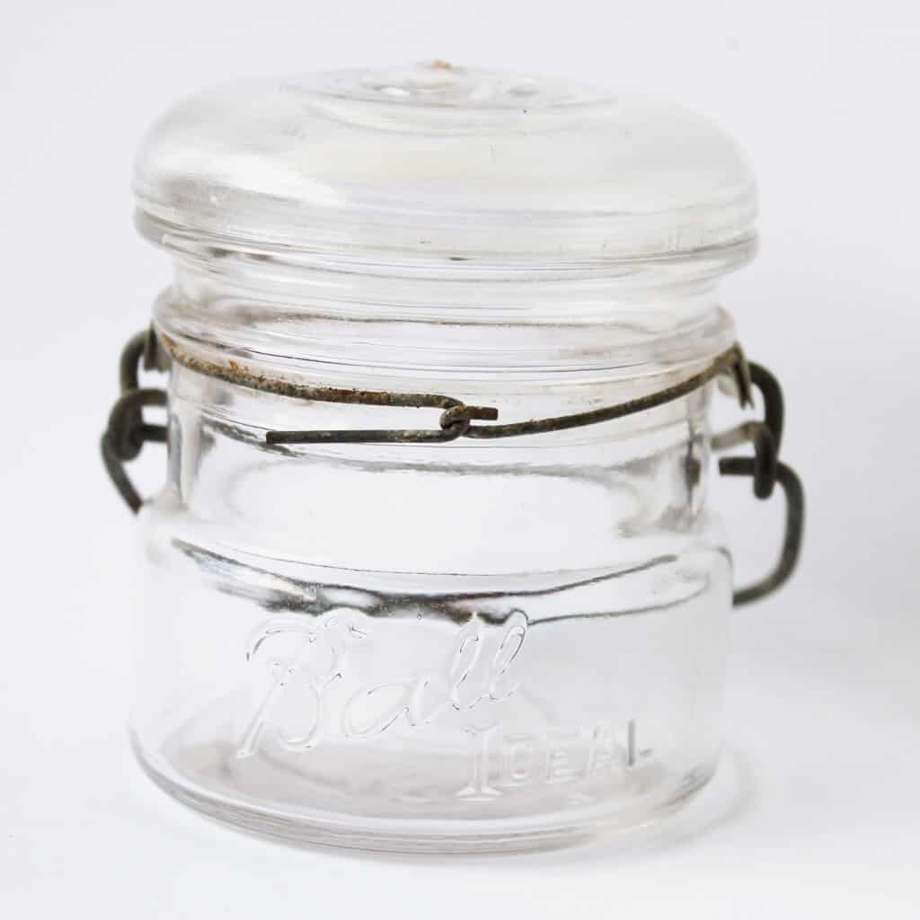 half pint ball canning jar