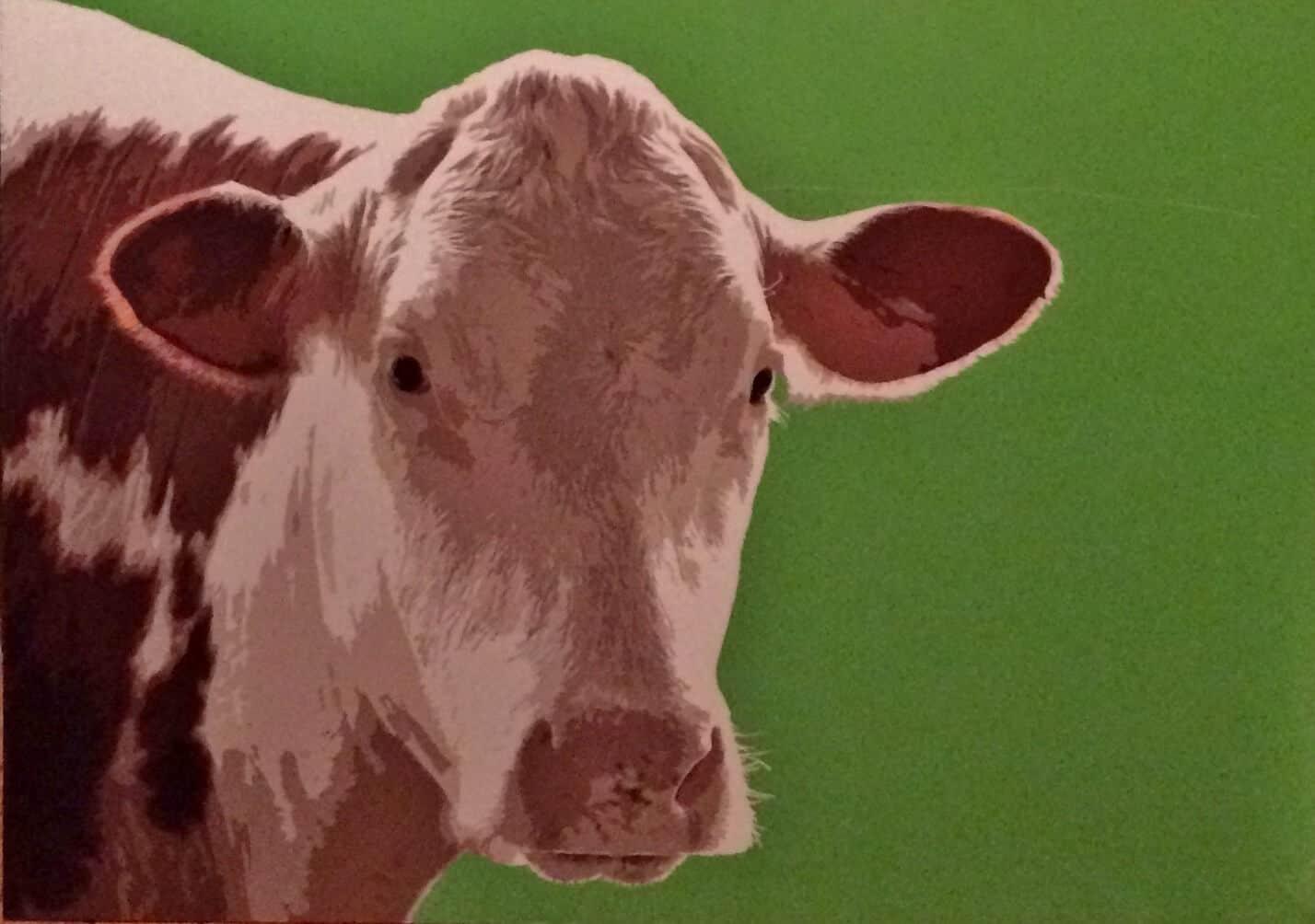 IKEA cow print