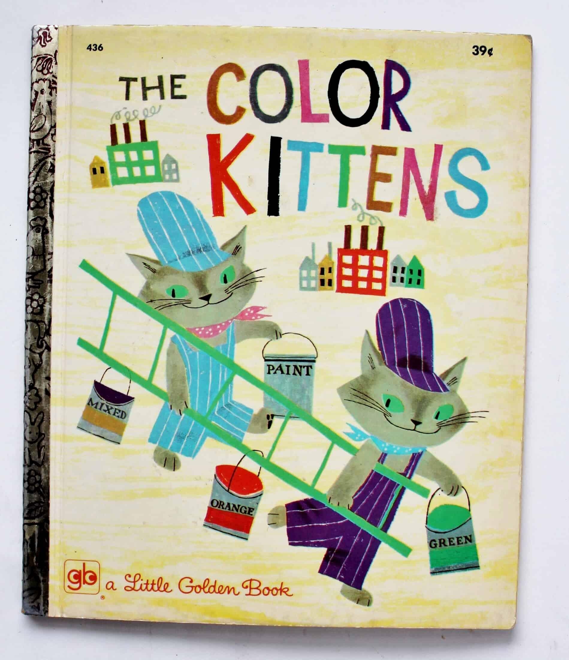 vintage little golden book the color kittens