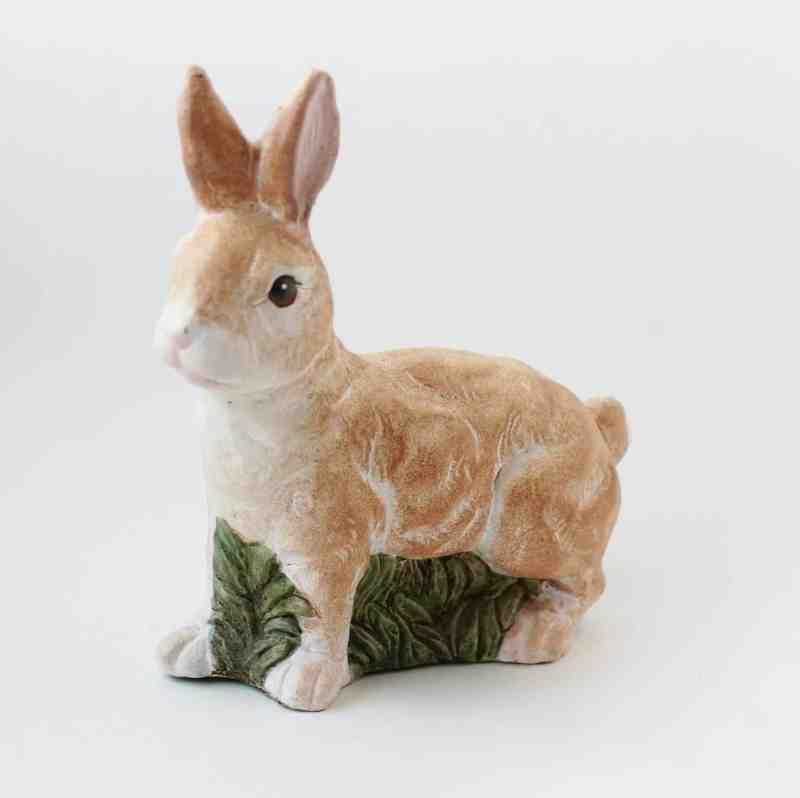 vintage pottery bunny rabbit