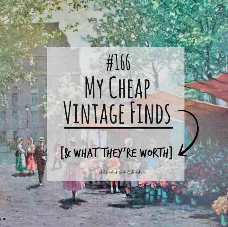 Vintage Finds button