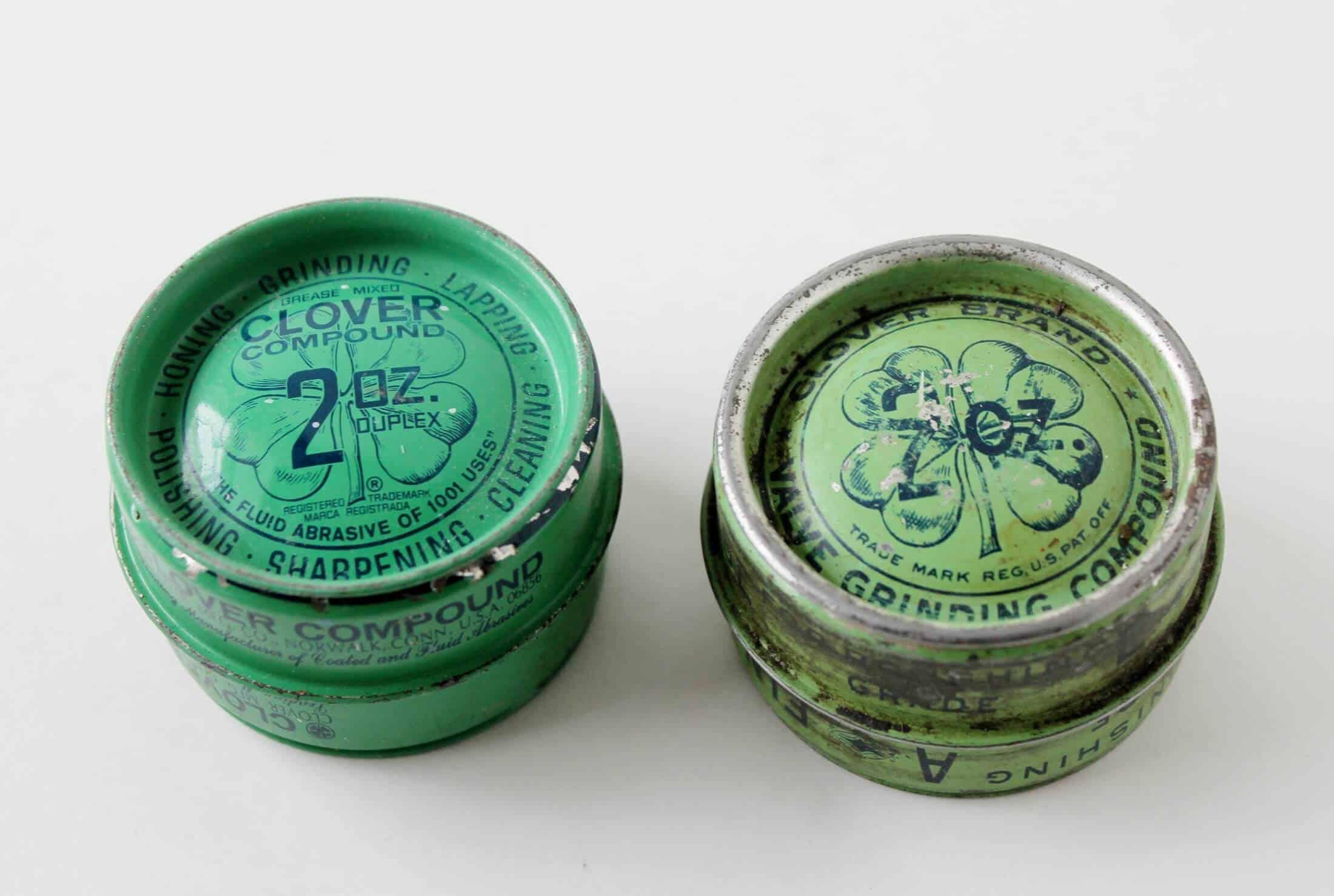 vintage clover tins