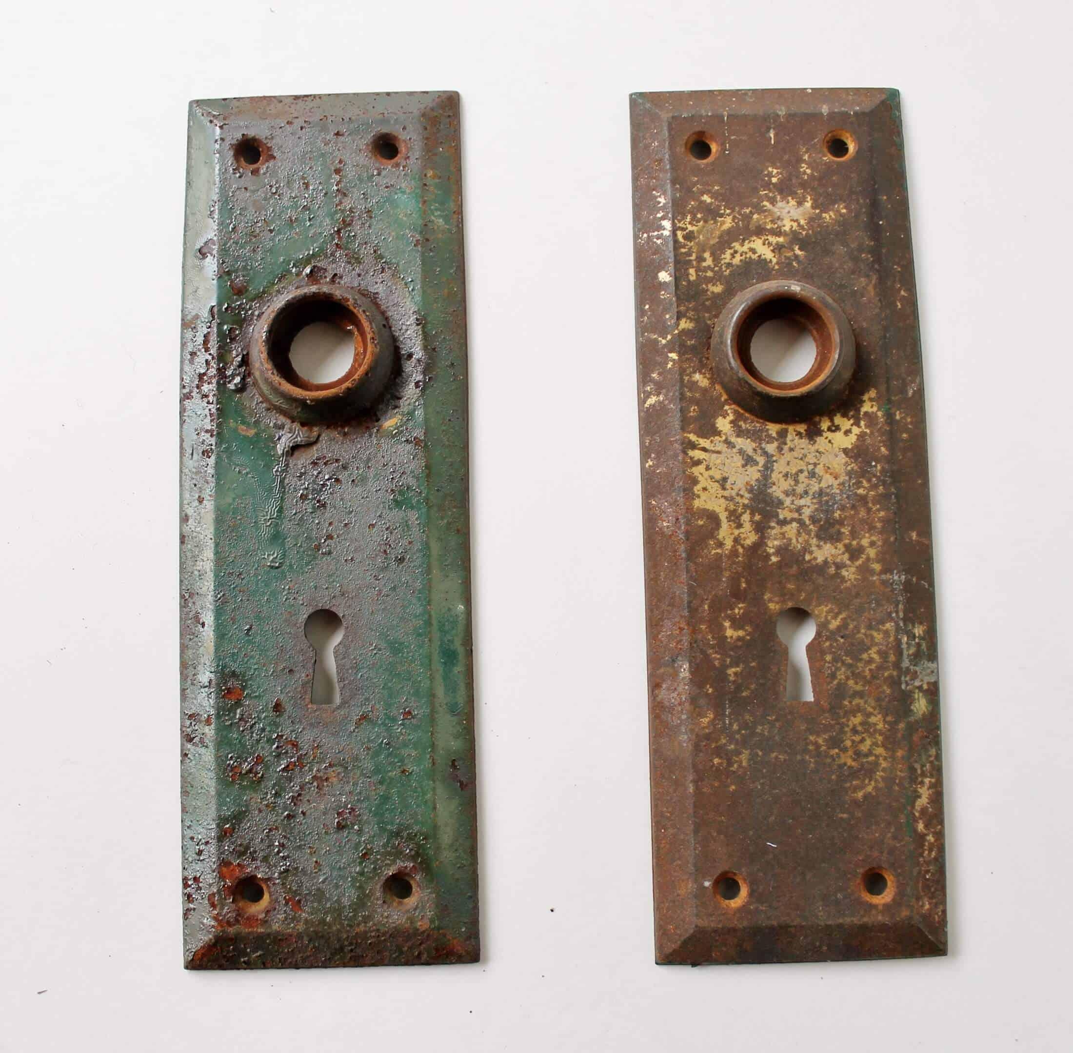 antique door plates