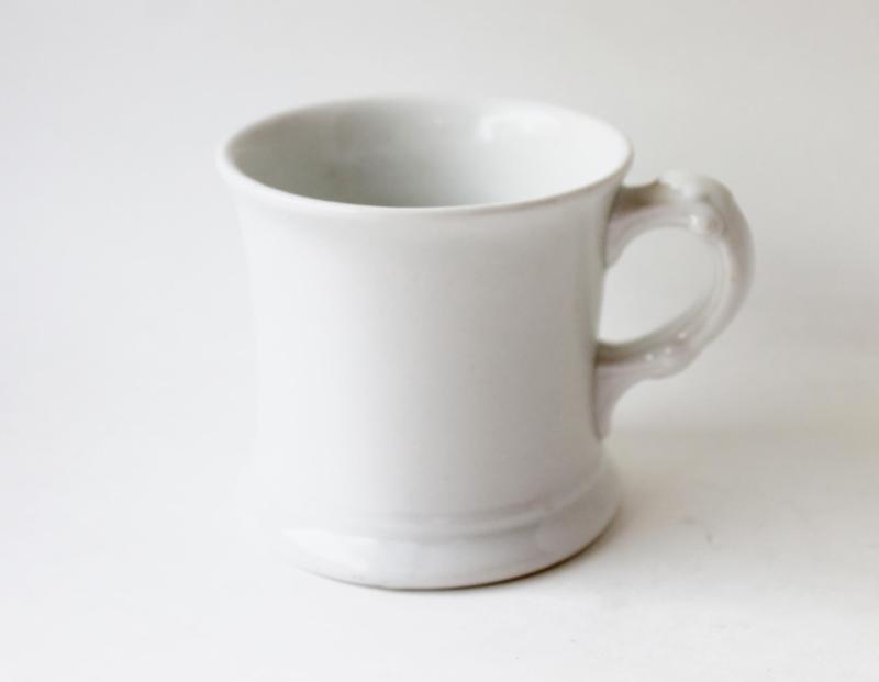 vintage moddock and Co. ironstone mug