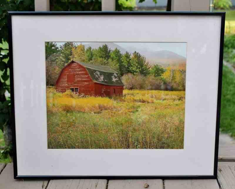 barn photograph in stunning landscape