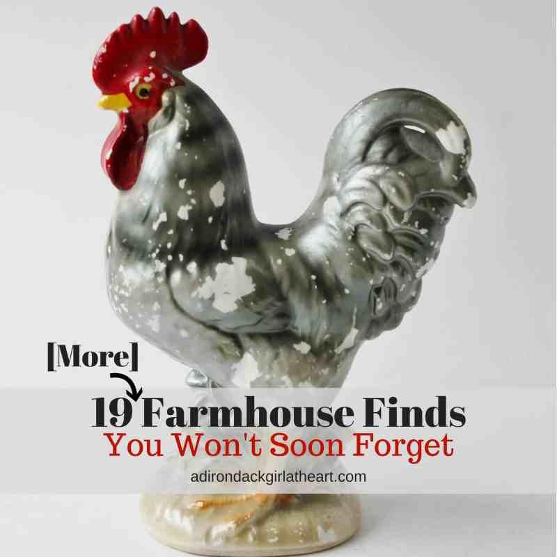 ceramic rooster