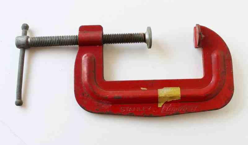 "vintage stanley 3"" clamp"