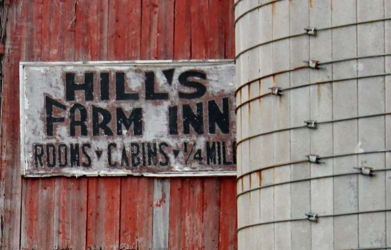 hill farms in sign