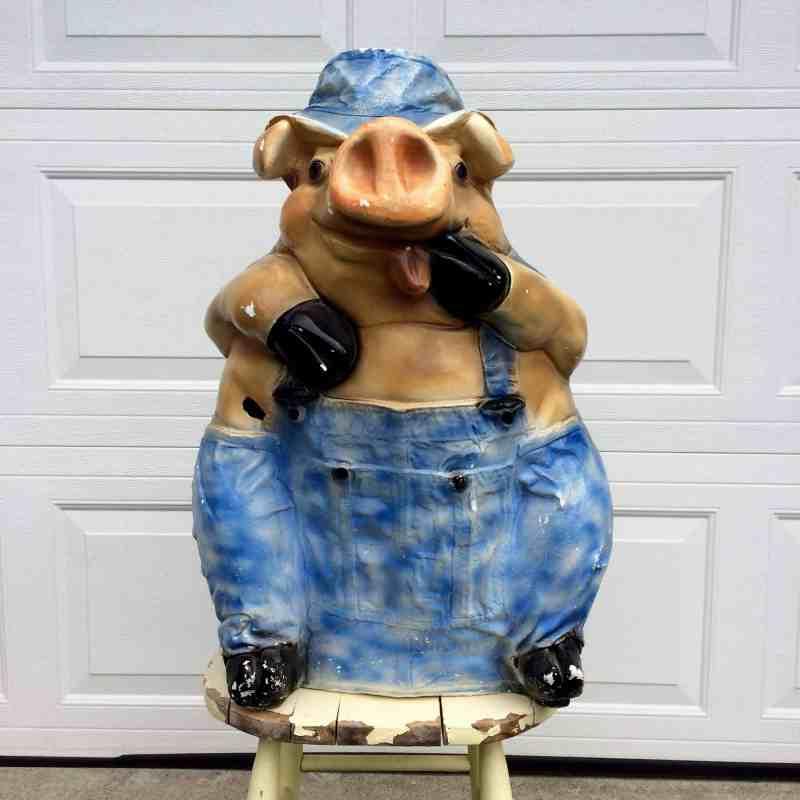 unique vintage piggy bank