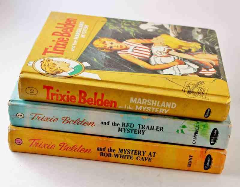 vintage trixie belden books
