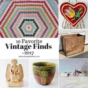 10 Favorite Vintage Finds of 2017