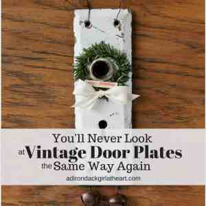 You'll Never Look at Vintage Door Plates the Same Way Again
