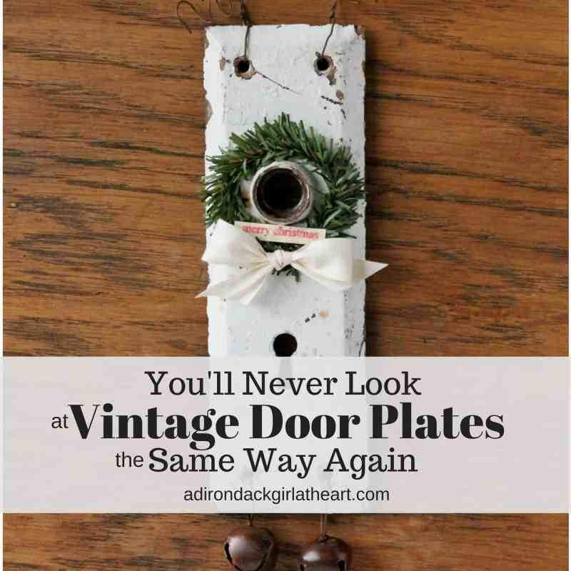You'll never look at vintage door plates the same again