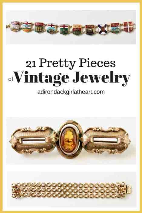21 Pretty Pieces of Vintage Jewelry
