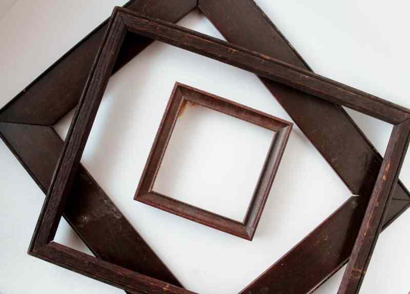 A Frame Transformation + Vintage Button Valentine • Adirondack Girl ...