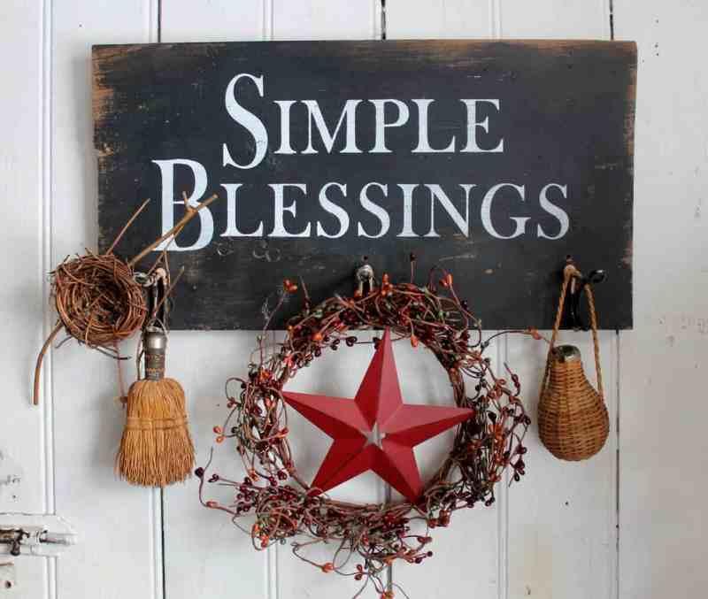 simple blessings rack