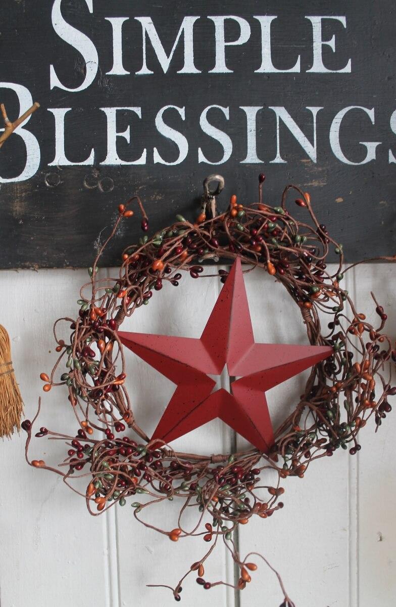 simple blessings hat rack